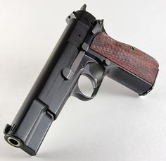 Browning Hi Power MK III with Spegel grips