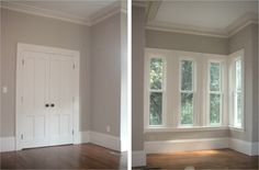 Revere Pewter Paint - BM. Study and upstairs hallway possibility.