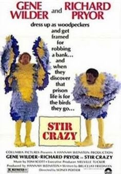 Stir Crazy    - FULL MOVIE - Watch Free Full Movies Online: click and SUBSCRIBE Anton Pictures  FULL MOVIE LIST: www.YouTube.com/AntonPictures - George Anton -   When unproduced Broadway playwright Skip Donahue (Gene Wilder) and his best friend, out-of-work actor Harry Monroe (Richard Pryor), are both fired from their dead-end jobs, they abandon Broadway and set out in their battered van to find fame and fortune in Hollywood. But the van breaks..