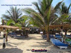 Gambia per pedes wyprawa do Gambii Zachodniej. This is Africa!  Uśmiech Afryki. : John Raymond Beach Bar & Restaurant w Kotu