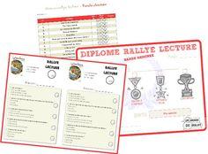 Organiser un rallye lecture – Cycle 2 et Cycle 3   ma classe mon école - cycle 3 - CE2 CM1 CM2 - Orphys
