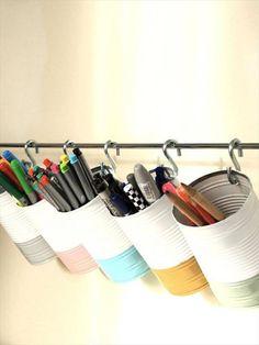 9 Objetos Feitos com Material Reciclado – Ideias Brilhantes | Revista Artesanato