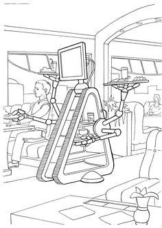 Рисунки будущего роботы