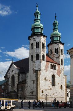 kościół św andrzeja kraków, k.XI-pocz.XII w.