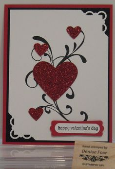 Denise Foor Studio PA: Everything Eleanor Valentines Day Cards Handmade, Greeting Cards Handmade, Homemade Valentine Cards, Valentine Ideas, Stamping Up Cards, Cards For Friends, Paper Cards, Cards Diy, Creative Cards