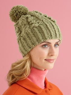 Cable Vision Hat in Lion Brand Vanna's Choice - L10588. Discover more Patterns by Lion Brand at LoveKnitting. The world's largest range of knitting supplies - we stock patterns, yarn, needles and books from all of your favorite brands.