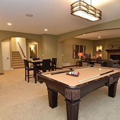 Basement Game Room Ideas On Pinterest Rec Rooms Basements And Pool Tables