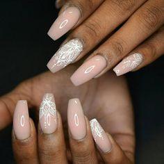Mandala nail art! More