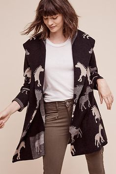 Dressage Sweater Coat - anthropologie.com