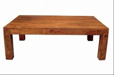 Wooden Coffee Table stain color