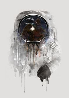 Illustration / Espace / Astronaute / Cosmonaute