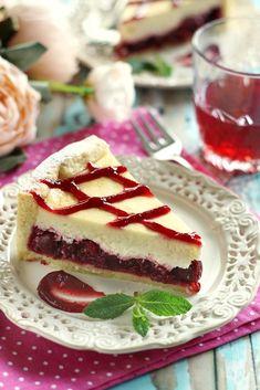 Juditka konyhája: ~ MEGGYES SAJTTORTA ~ Cake & Co, Pastry Cake, Pastry Recipes, French Toast, Sandwiches, Breakfast, Sweet, Food, Cherries