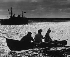 Old Irish photo - Aran Islands at dusk