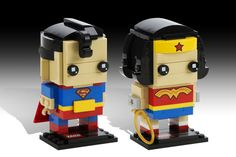 Lego's Buildable Superheroes Are Stupid Cute
