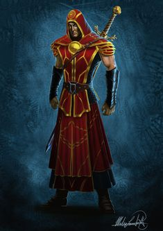 Hannibal, the elven Avenger by MatesLaurentiu.deviantart.com on @deviantART