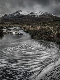 Running in circles - Allt Dearg Mor, Sligachan, Isle of Skye.