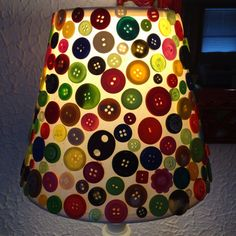My button lamp :)