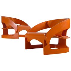 Joe Colombo 4801 Chairs | From a unique collection of antique and modern armchairs at https://www.1stdibs.com/furniture/seating/armchairs/