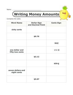 math worksheet : comparing money  free printable worksheets printable worksheets  : Decimals And Money Worksheets