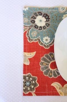Quick & Simple DIY Placemats Tutorial