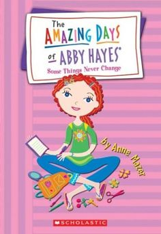 Some Things Never Change (Abby Hayes #13) by Anne Mazer http://www.amazon.com/dp/043948281X/ref=cm_sw_r_pi_dp_ZY8Gub14ZY05G