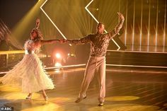 Wonderful waltz:Nelly, 45, did a Viennese waltz to Humble And Kind by Tim McGraw