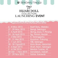 LAUNCHING EVENT - DATE AND PLACE