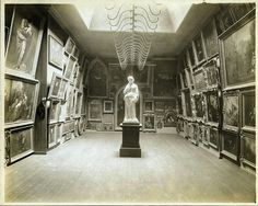 New York. Art Gallery, 11th St and Second Avenue, circa 1870.
