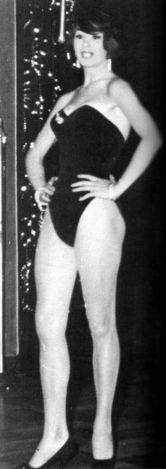 April Ashley in 1959.
