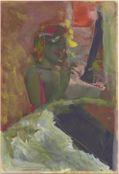 saul leiter painted photograph