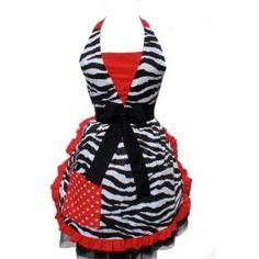 Red Zebra  I don't bake often but if I do I wanna wear this!