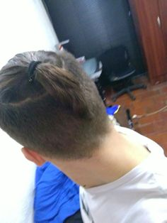 Top knot Man bun