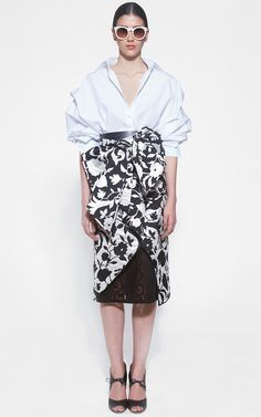 Johanna Ortiz - Ludwig Husband Shirt & Socotra Short Pareo Skirt