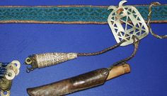 Sami belt and needle case, Norway. Saami. Oslo, Norway.