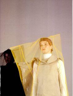 "dazedarchives: "" Dazed & Confused, May 1998 ""Me + My Shadow"" photographer: Bettina Komenda stylist: Desiree Bless """
