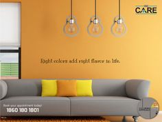 Right color add right flavor in life! Call 18601801801 | http://www.dbc.care/in/services/