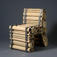 wohnideen bambus deko möbel toller stuhl
