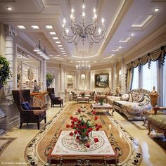 Interior Designs For Grand Living Rooms Page