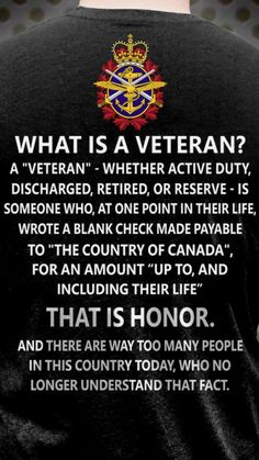 I thought TRUDEAU ignored the needs of veterans to give money to dictatorships and muzzie terrorists. Royal Canadian Navy, I Am Canadian, Canadian History, Remembrance Day Quotes, Remembrance Day Poppy, Military Quotes, Military Mom, Police, Canadian Soldiers