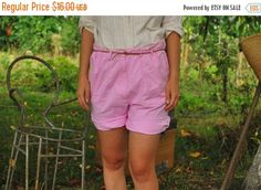 Shop for shorts on Etsy, the place to express your creativity through the buying and selling of handmade and vintage goods. Pink Shorts, Casual Shorts, Short Dresses, Women Shorts, Stuff To Buy, Vintage, Shopping, Garden, Fashion