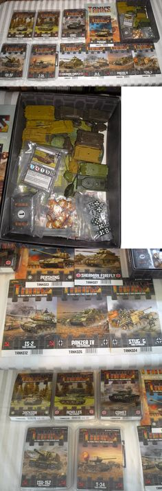 Other Miniatures and War Games 2537: Tanks Wwii Skirmish Game - Base Game + 10 Additional Tanks - Gale Force 9 -> BUY IT NOW ONLY: $79.95 on eBay!