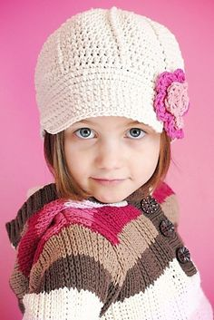 Newsboys crochet pattern