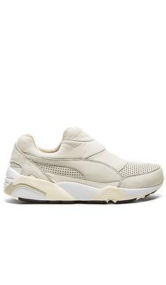 Puma Select x Stampd Trinomic Sock in Whisper White