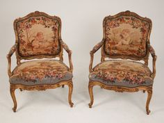 Savonnerie chairs