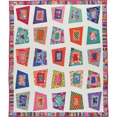 American Quilter's Society - Helter Skelter Quilt Pattern - Kits & Patterns