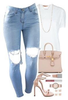 """""""✨"""" by daisym0nste ❤ liked on Polyvore featuring Coperni Femme, Hermès, Stuart Weitzman, Forever 21, Givenchy, Marc by Marc Jacobs, Maison Margiela, women's clothing, women's fashion and women"""
