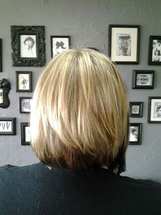 pictures of the back of a layered bob | ... Bob Haircut (Kyra) KYRA BACK – Sarasota Bradenton Hair Salon