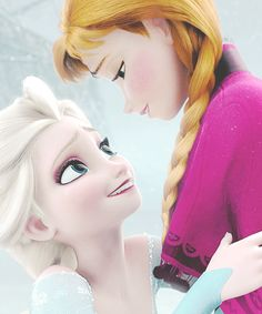 La reine des Neiges - Anna et Elsa