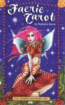 Faerie tarot deck by Nathalie Hertz