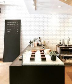 Visit us at 111 North in Brooklyn, we promise we won't bite. Mast Chocolate, Mast Brothers Chocolate, Organic Chocolate, Interior Shop, Shop Interiors, Brooklyn, Sweets, Display, Bar